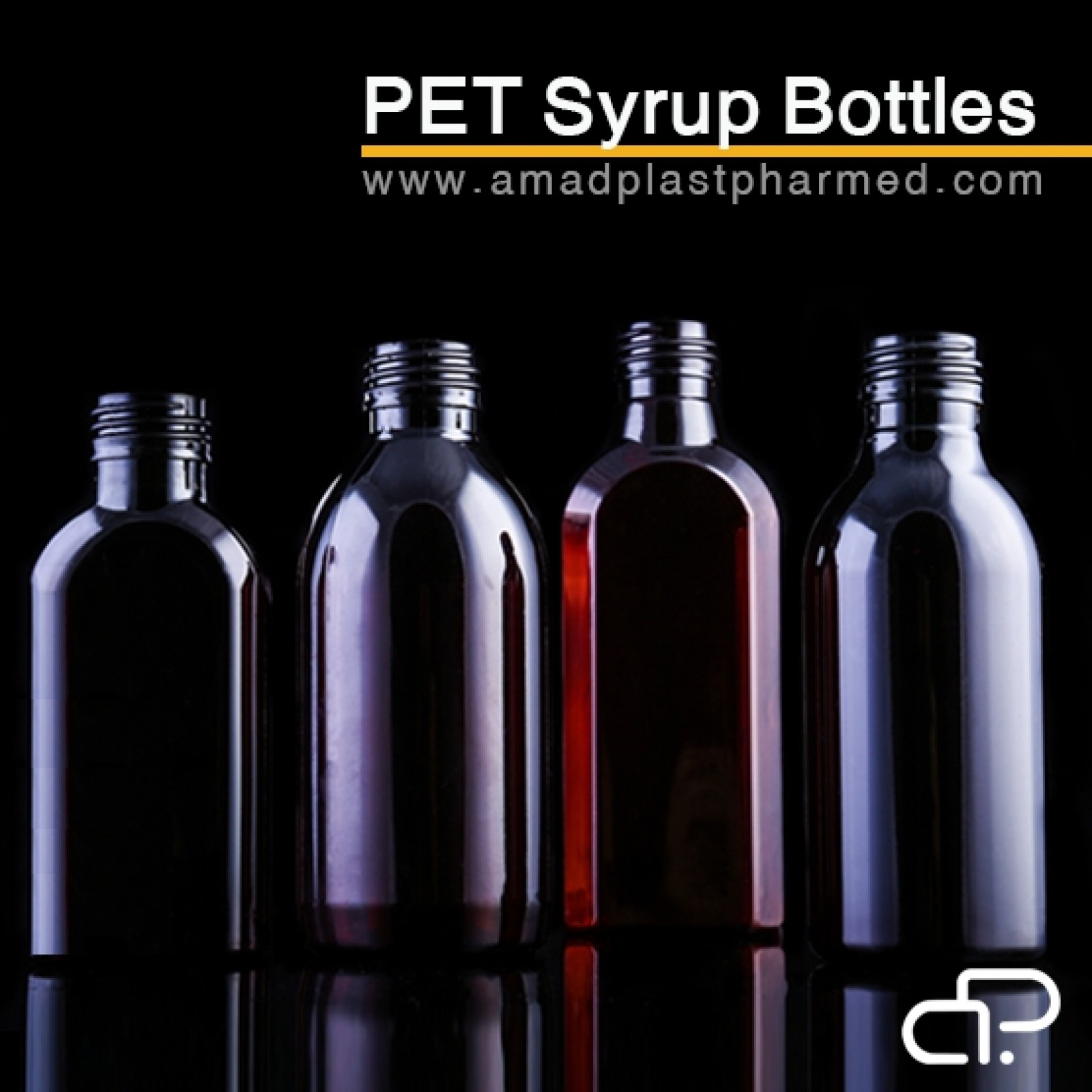 PET بطری های شربت دارويي