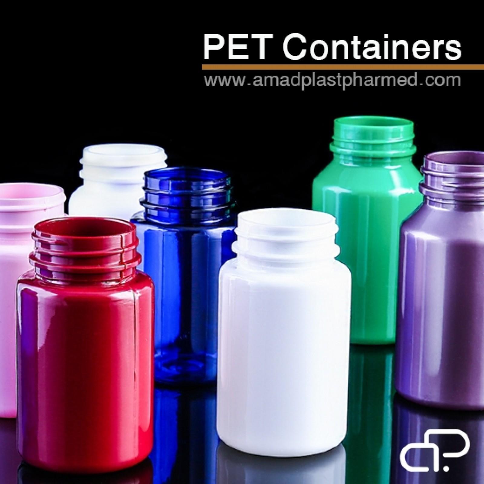 PET قوطی های دارويي